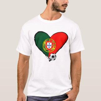 Amor、ポルトガルe Futebol - Oのqueのmaisのvôceのquerか。 Tシャツ