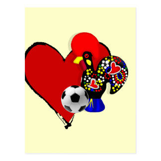 Amor、BarcelosのFutebol - Deusのé Maravilhoso ポストカード