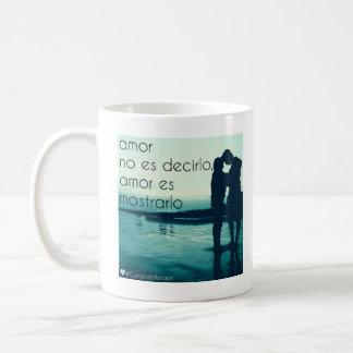Amor ESのconsideración、TAZA コーヒーマグカップ