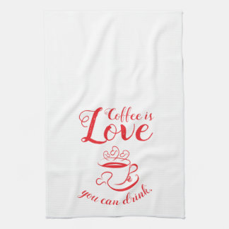 Amoreのコーヒー台所タオル キッチンタオル