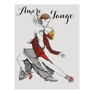 Amoreのタンゴ ポストカード