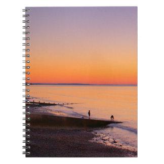 Amrothのビーチのノート ノートブック