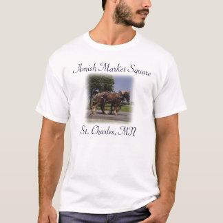 AMSの馬か乳母車 Tシャツ