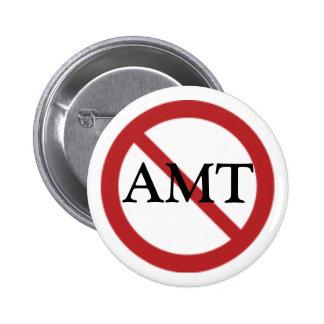 AMTボタン無し 5.7CM 丸型バッジ
