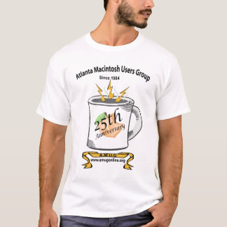 AMUG第25記念日のワイシャツ Tシャツ