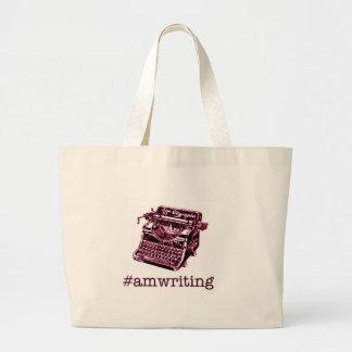 #amwriting ラージトートバッグ