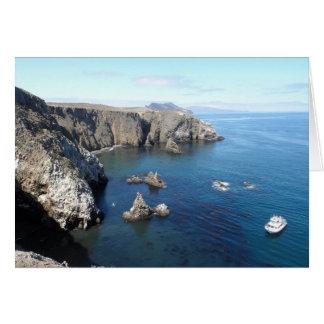 Anacapaの島のチャネル諸島の国立公園 カード