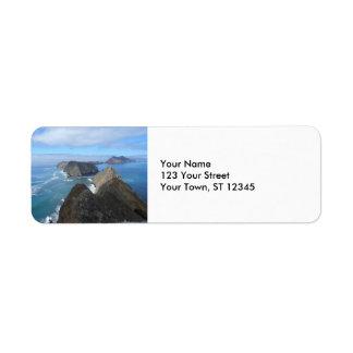 Anacapaの島のチャネル諸島の国立公園 返信用宛名ラベル