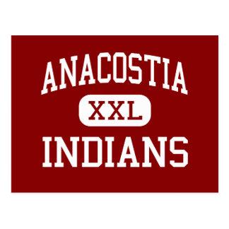 Anacostia -インディアン-高ワシントン州 ポストカード