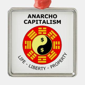 Anarchoの資本主義-生命、自由、特性 メタルオーナメント