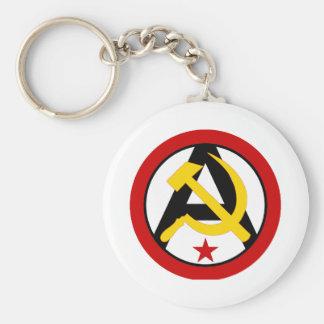 Anarcho共産主義のロゴ キーホルダー