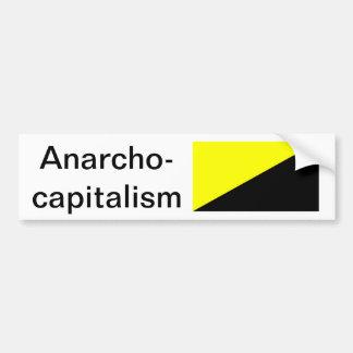 Anarcho資本主義 バンパーステッカー