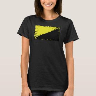 Anarcho資本家の旗のTシャツ Tシャツ