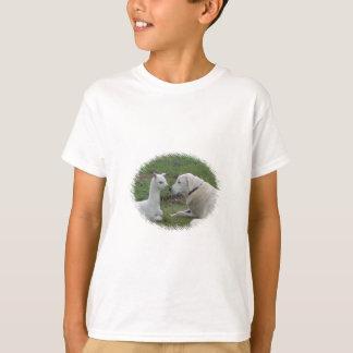 Anatolian羊飼いおよびアルパカのベビー Tシャツ