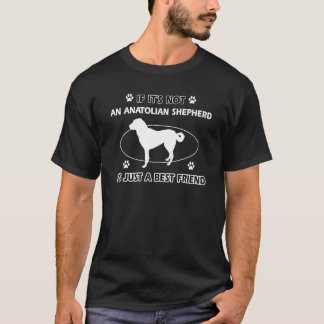 ANATOLIAN羊飼いの親友のデザイン Tシャツ