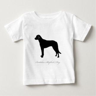 Anatolian羊飼い犬のシルエット ベビーTシャツ