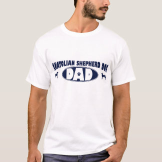 Anatolian羊飼い犬のパパ Tシャツ
