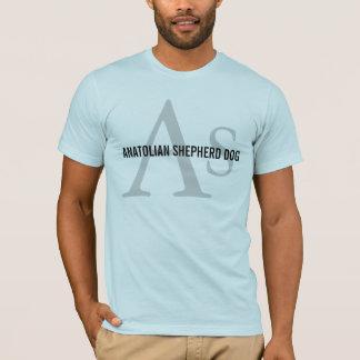 Anatolian羊飼い犬の品種モノグラム Tシャツ