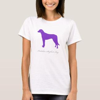 Anatolian羊飼い犬のTシャツ(紫色) Tシャツ
