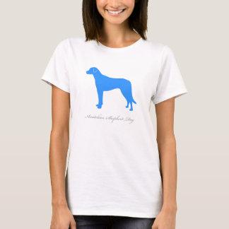 Anatolian羊飼い犬のTシャツ(青い) Tシャツ