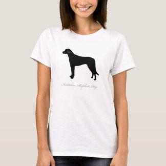 Anatolian羊飼い犬のTシャツ(黒) Tシャツ