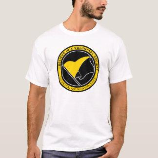 AnCapの旗のワイシャツ Tシャツ