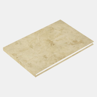 Ancient Blank Stained Parchment Old Fashioned ゲストブック