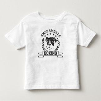 Ancramdaleのボクシングの幼児 トドラーTシャツ