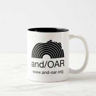 and/OARの標準 ツートーンマグカップ