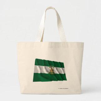 Andalucíaの振る旗 ラージトートバッグ