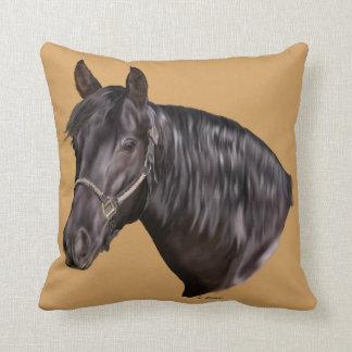 Andalusian馬の芸術のプリント クッション