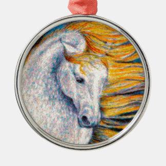 Andalusian馬 メタルオーナメント