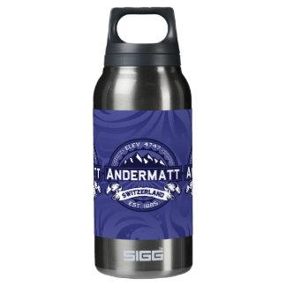 Andermattのロゴの真夜中 断熱ウォーターボトル