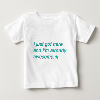 andimalreadyawesome.png ベビーTシャツ