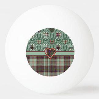 Andisonの一族の格子縞のスコットランドのキルトのタータンチェック 卓球ボール