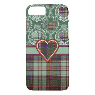 Andisonの一族の格子縞のスコットランドのキルトのタータンチェック iPhone 8/7ケース