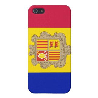 Andorra*の旗のiPone 4/4Sの場合 iPhone 5 Cover