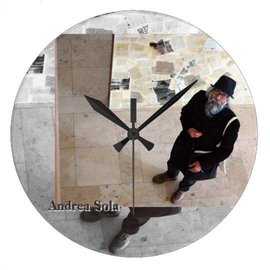 Andrea Sola firenze きみのじかん展 galleriafirenzeitaly ラージ壁時計