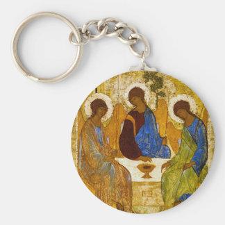 """Andrei Rublev , """" Holy Trinity """" キーホルダー"""