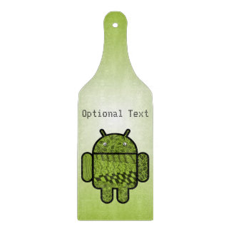 Android™のためのペイズリーの落書きのキャラクター カッティングボード