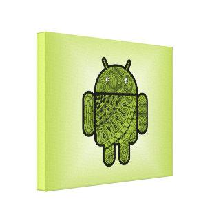 Android™のためのPanchoの落書き キャンバスプリント