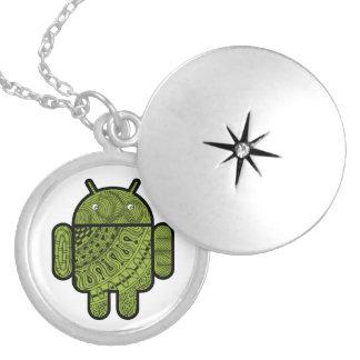 Android™のロボットのためのPanchoの落書きのキャラクター ロケット