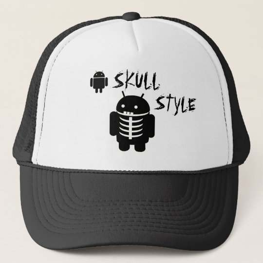 Android SKULL STYLE キャップ