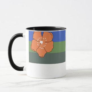 Angaurの旗 マグカップ