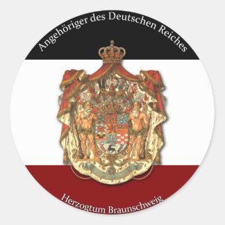 Angehöriger des Deutschen Reiches ラウンドシール