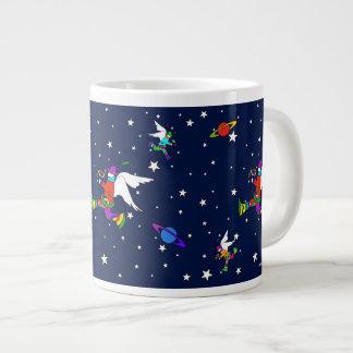 Angel Dudes Starry Night (Midnight) ジャンボコーヒーマグカップ