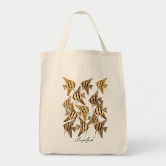 Angelfishのバッグの学校 トートバッグ