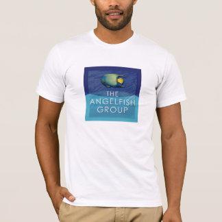 Angelfishのロゴ白のTシャツ Tシャツ