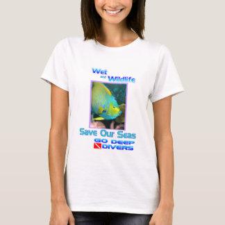 Angelfishの保存私達の海 Tシャツ