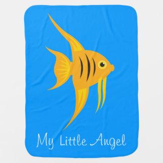 AngelFish_My少しAngel_Sweet及び愛らしい ベビー ブランケット